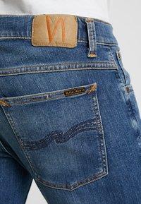 Nudie Jeans - TIGHT TERRY - Jeans Skinny Fit - steel navy - 5