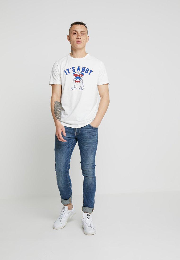 Nudie Jeans TIGHT TERRY - Jeans Skinny Fit - steel navy