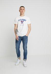 Nudie Jeans - TIGHT TERRY - Jeans Skinny Fit - steel navy - 1