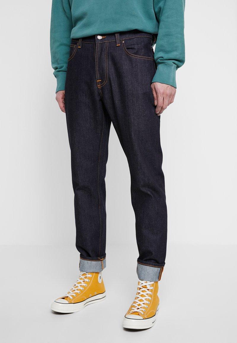 Nudie Jeans - STEADY EDDIE - Straight leg jeans - dry true