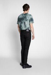 Nudie Jeans - LEAN DEAN - Slim fit -farkut - dry ever black - 2