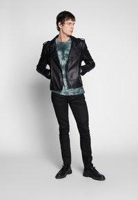 Nudie Jeans - LEAN DEAN - Slim fit -farkut - dry ever black - 1