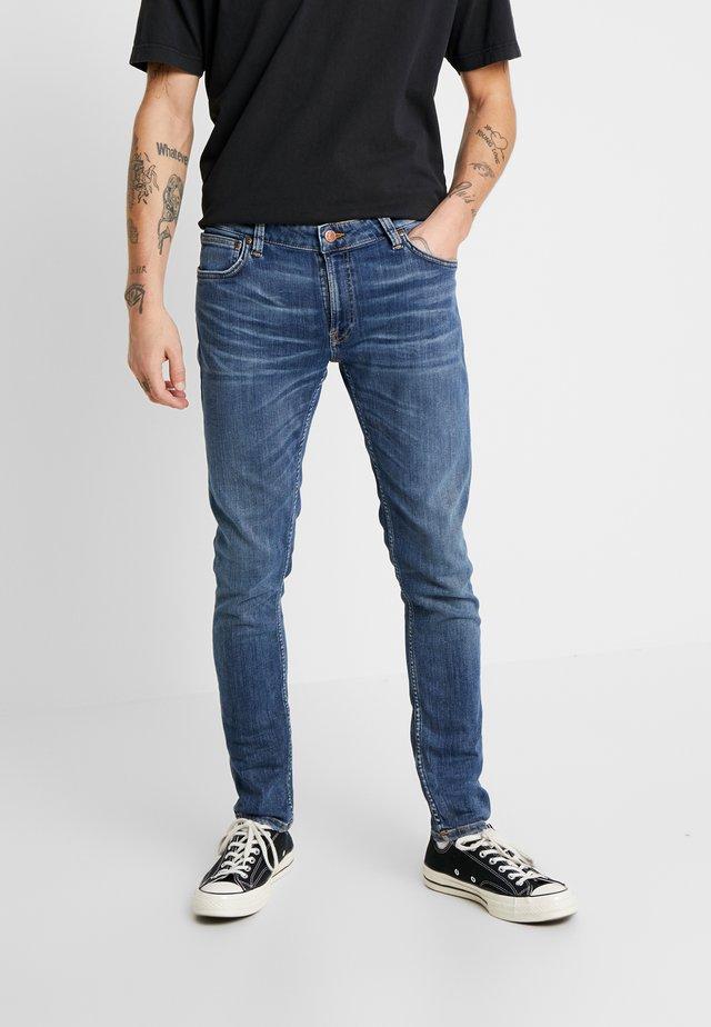SKINNY LIN - Jeansy Skinny Fit - dark blue navy