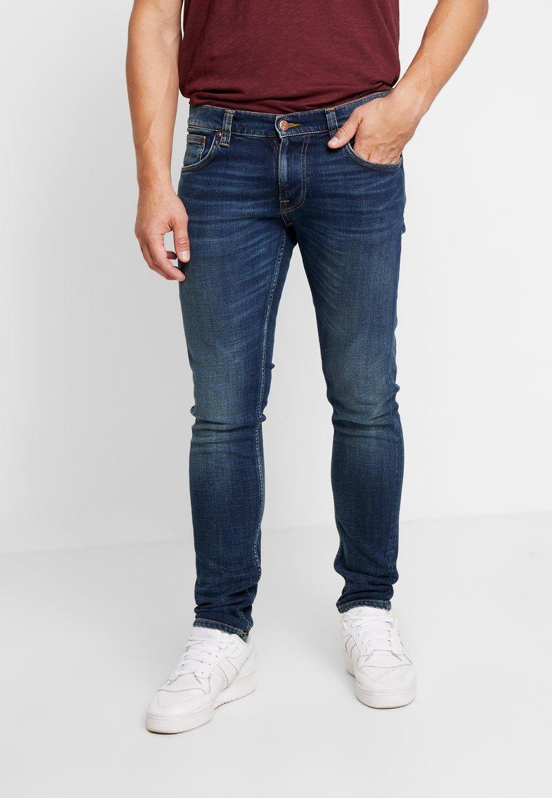Nudie Jeans - TIGHT TERRY - Jeans Skinny Fit - dark dawn