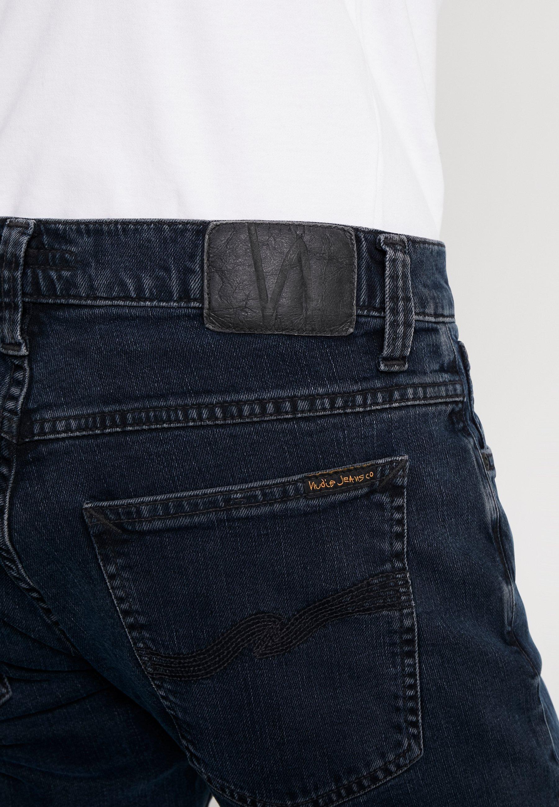 Nudie Jeans Tight Terry - Slim Fit Black Ocean