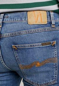 Nudie Jeans - LEAN DEAN - Slim fit jeans - lost orange - 4
