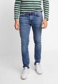Nudie Jeans - LEAN DEAN - Slim fit jeans - lost orange - 0