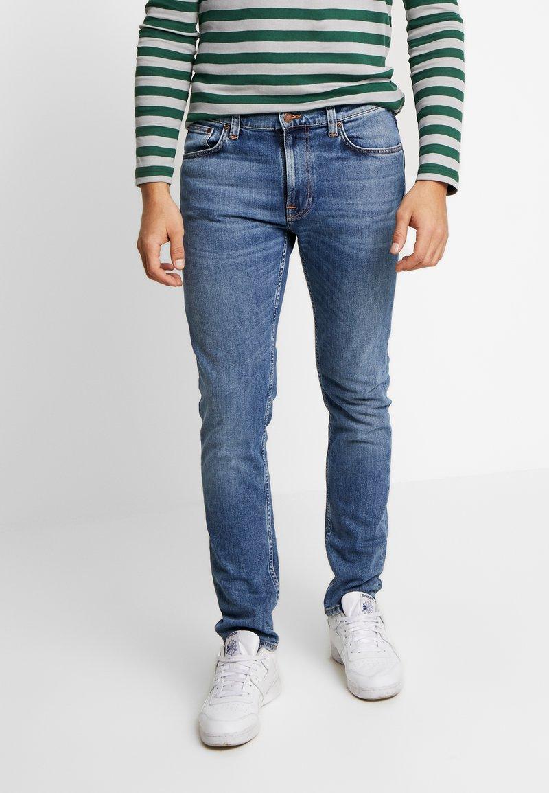 Nudie Jeans - LEAN DEAN - Slim fit jeans - lost orange