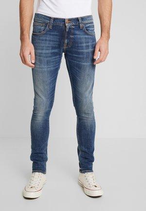 TIGHT TERRY - Slim fit -farkut - dark blue denim
