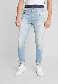 Nudie Jeans - LEAN DEAN - Slim fit -farkut - faded meadow - 0