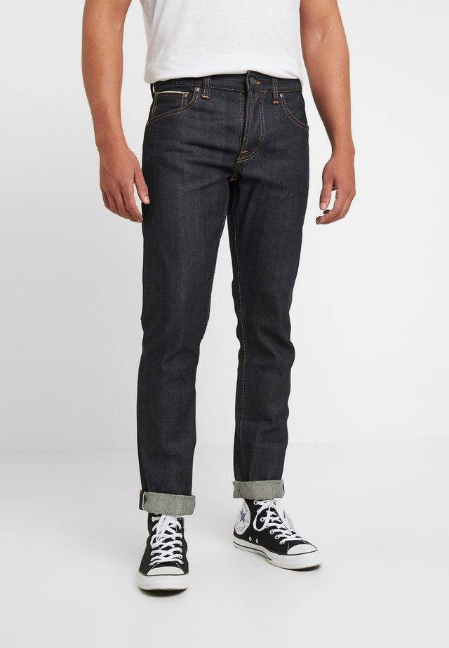 GRIM TIM - Slim fit jeans - dry deep selvage