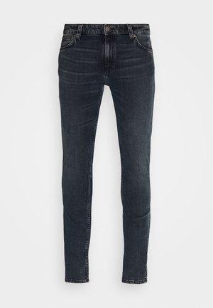 LIN - Skinny džíny - black yard