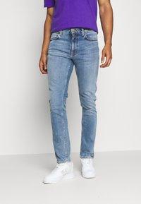 Nudie Jeans - LEAN DEAN - Slim fit jeans - blue denim - 0