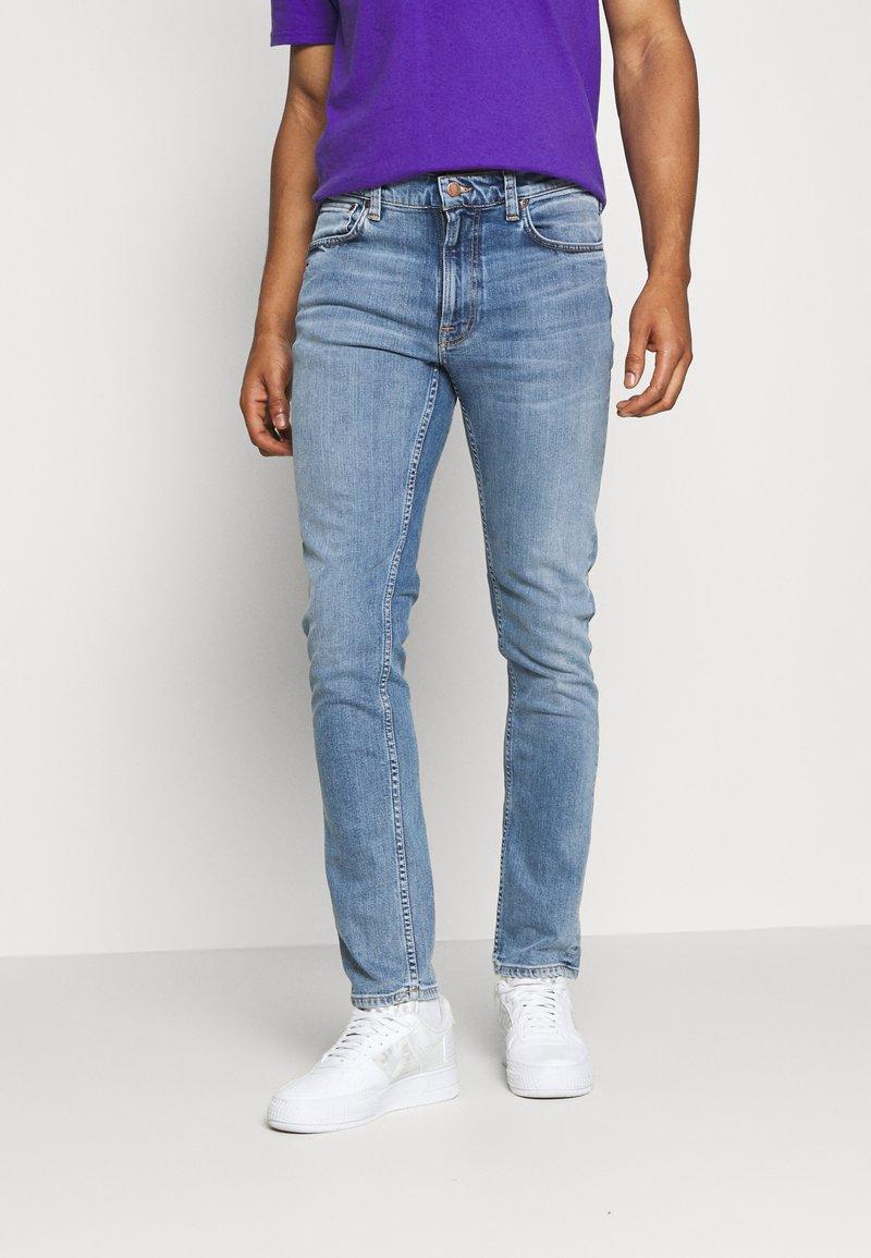 Nudie Jeans - LEAN DEAN - Slim fit jeans - blue denim