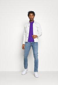 Nudie Jeans - LEAN DEAN - Slim fit jeans - blue denim - 1