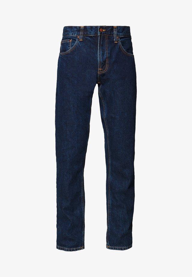 GRITTY JACKSON - Straight leg jeans - dark space