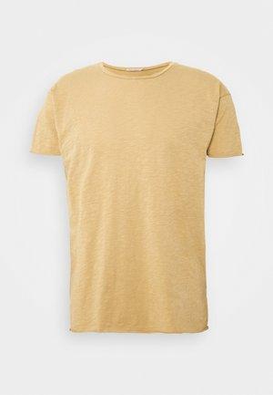 ROGER - Jednoduché triko - beige