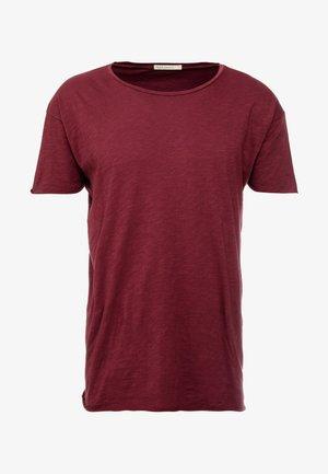 ROGER - T-shirt basic - bordeaux