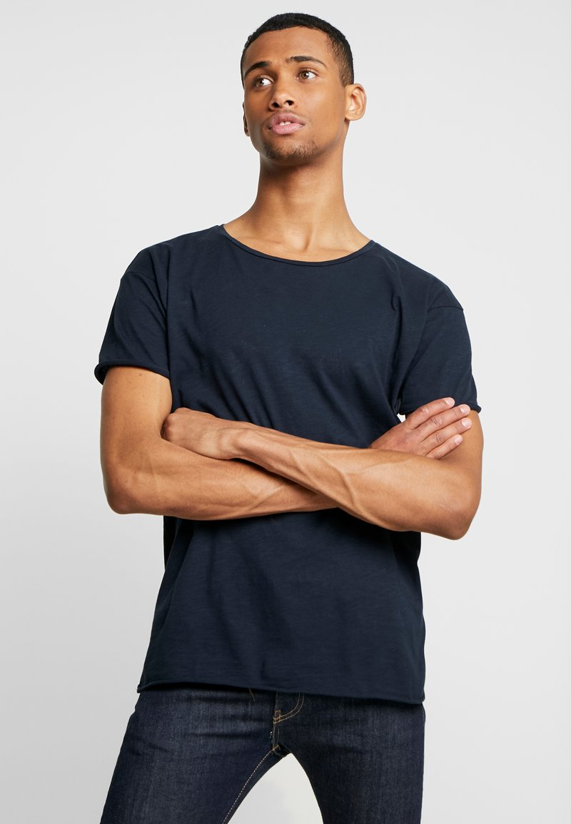 Nudie Jeans - ROGER - T-shirt basic - smokey blue