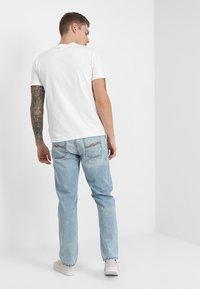 Nudie Jeans - DANIEL - Printtipaita - offwhite - 2