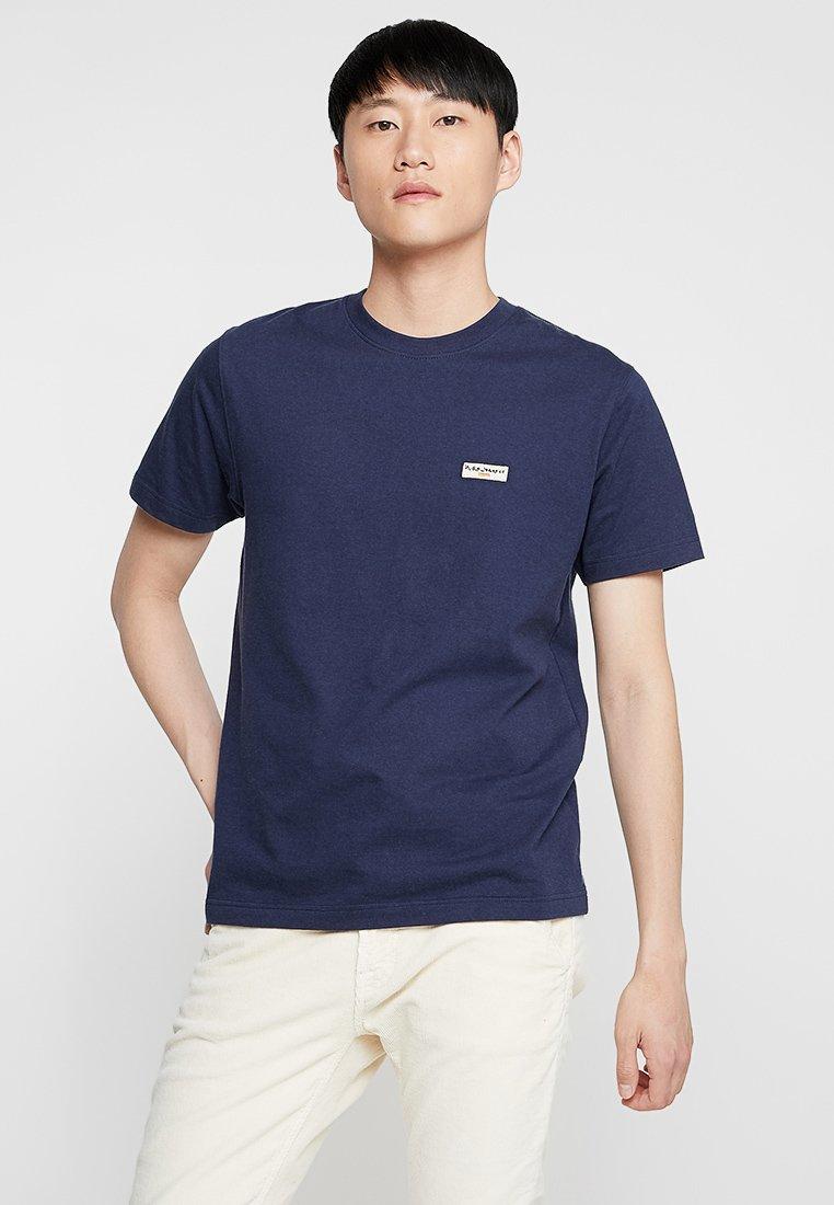 Nudie Jeans - DANIEL - Basic T-shirt - midnight