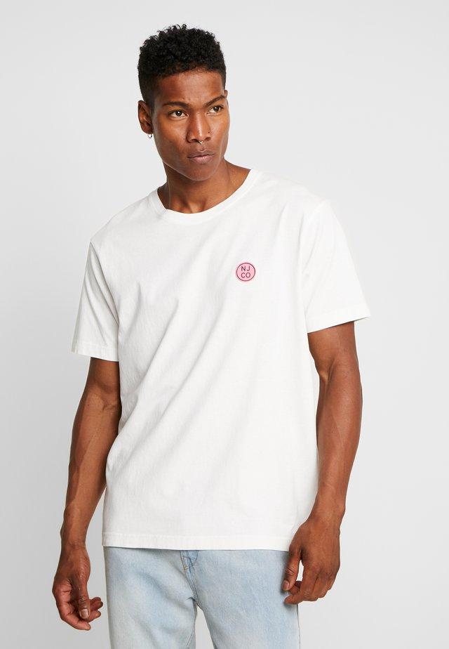 UNO - Jednoduché triko - white