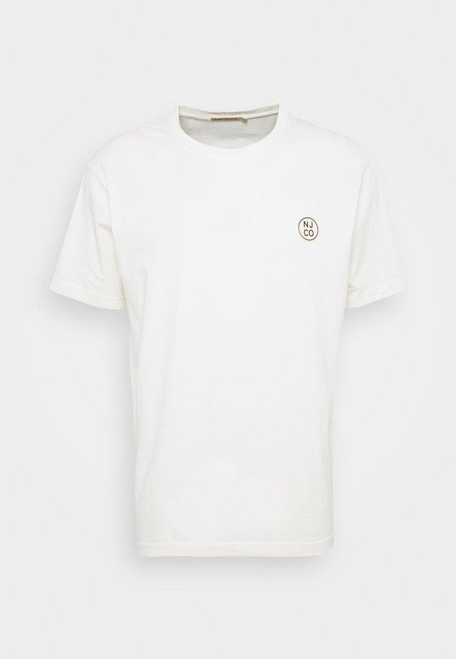 UNO - T-Shirt basic - dusty white