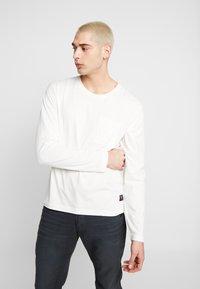 Nudie Jeans - RUDI - Long sleeved top - powder - 0