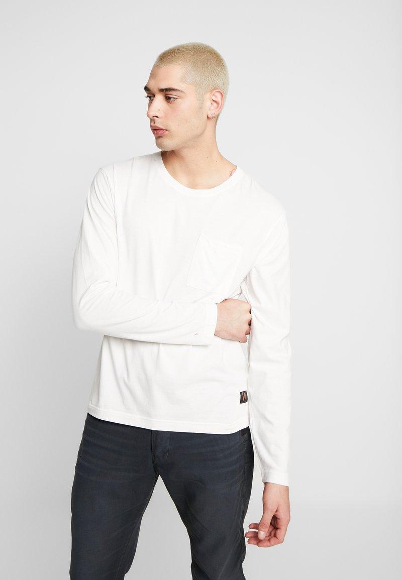 Nudie Jeans - RUDI - Long sleeved top - powder