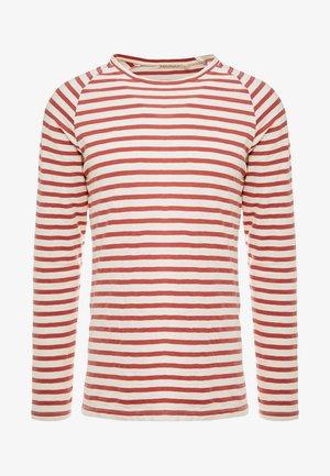 Pitkähihainen paita - egg white/dusty red