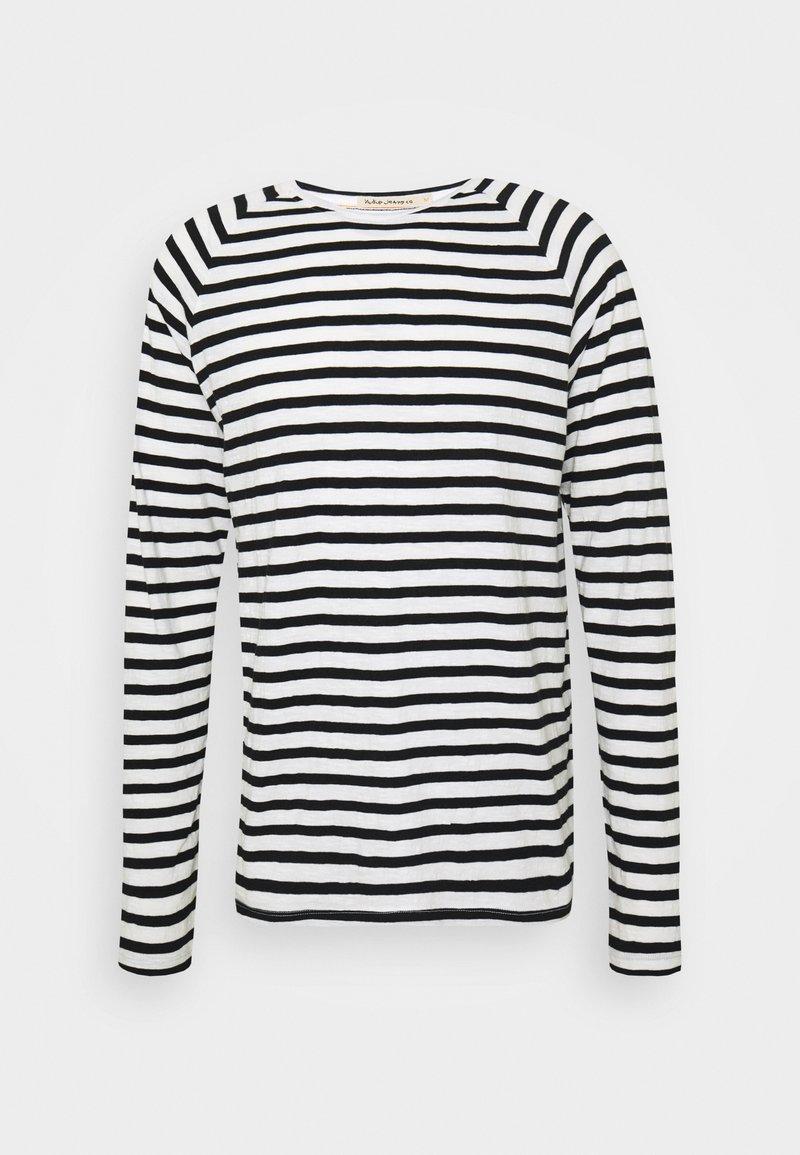 Nudie Jeans - Pitkähihainen paita - black