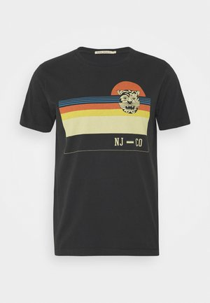 ROY - Print T-shirt - black