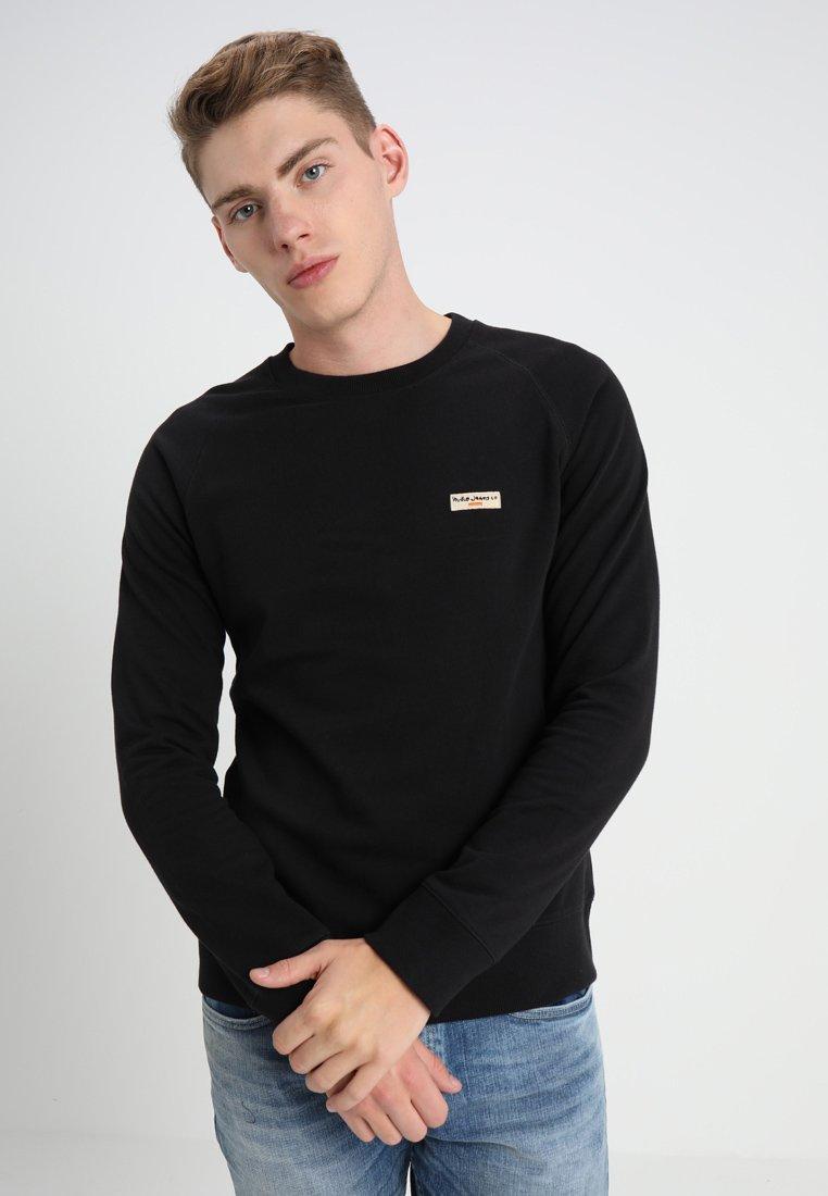 Nudie Jeans - SAMUEL - Sweatshirt - black