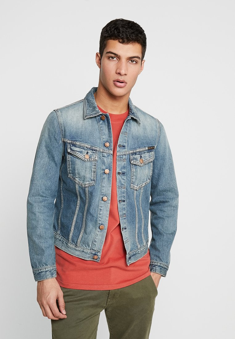 Nudie Jeans - BILLY - Chaqueta vaquera - redcast