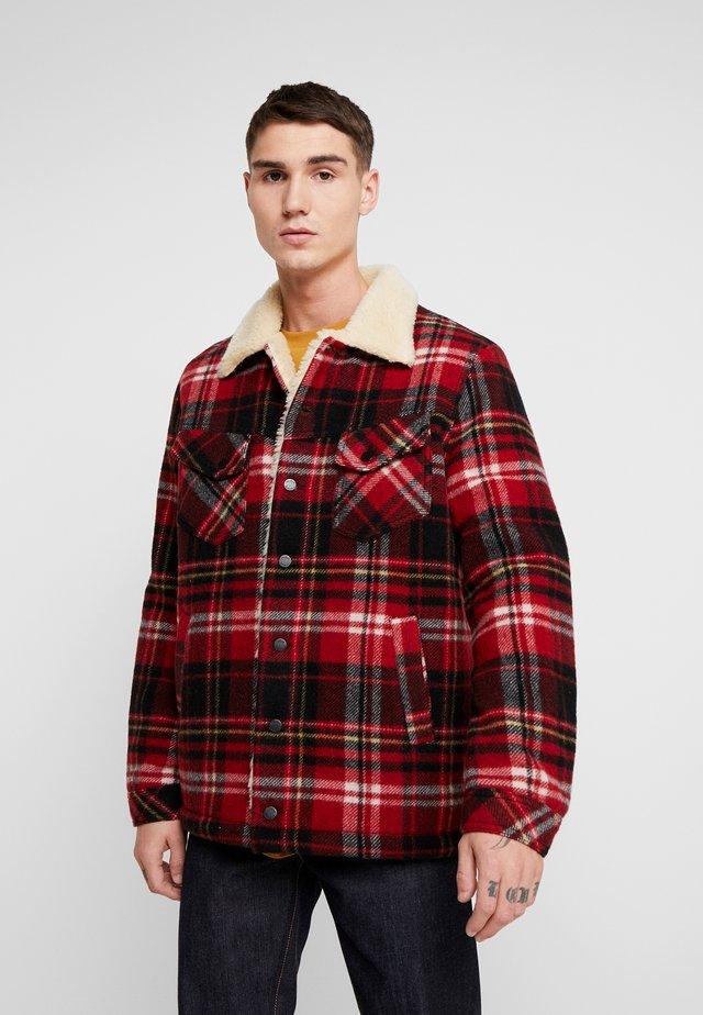 LENNY - Light jacket - red alert