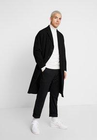 Nudie Jeans - RUBEN - Zimní kabát - black - 0