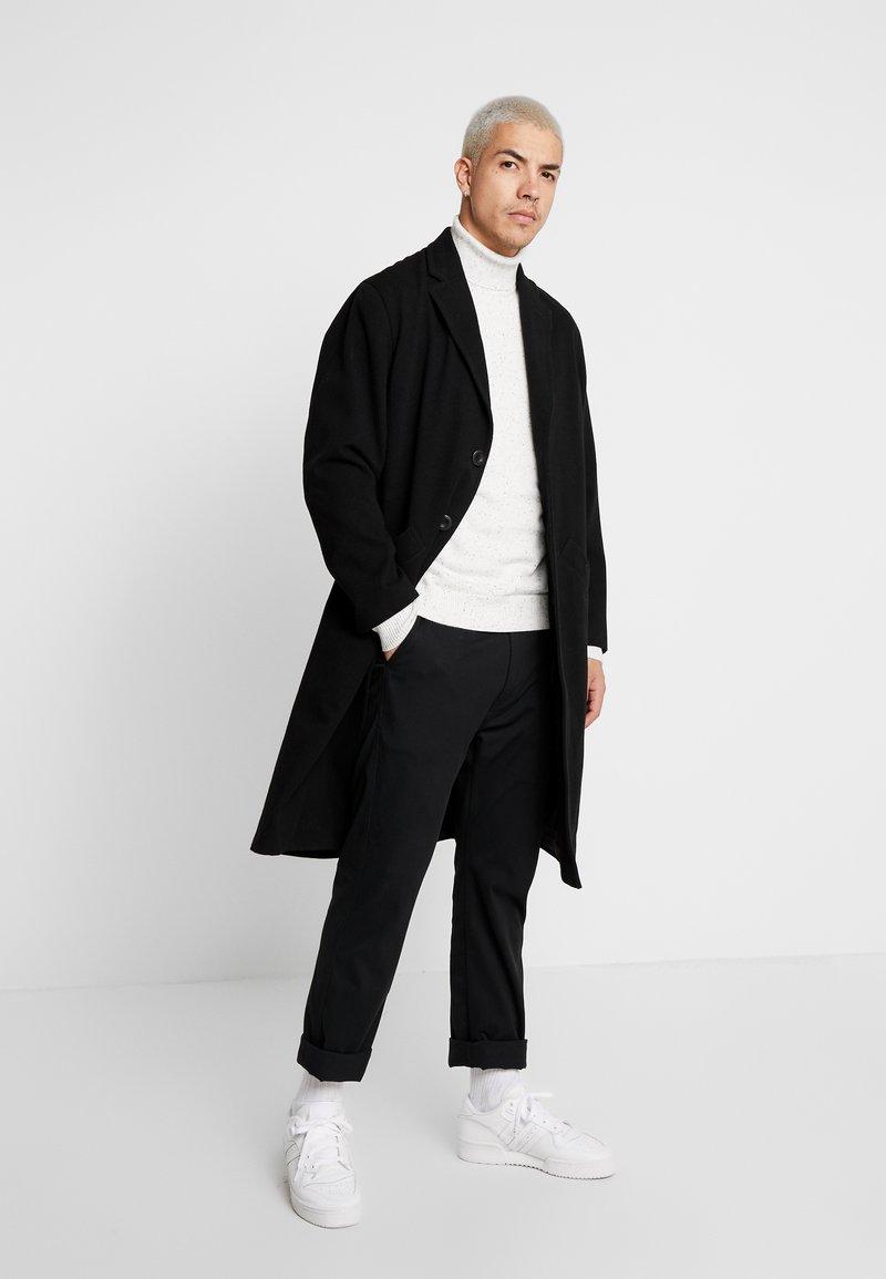 Nudie Jeans - RUBEN - Zimní kabát - black