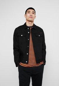 Nudie Jeans - JERRY - Denim jacket - dry black - 0