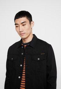 Nudie Jeans - JERRY - Denim jacket - dry black - 4