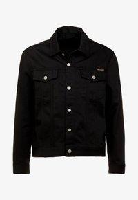 Nudie Jeans - JERRY - Denim jacket - dry black - 3