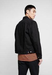 Nudie Jeans - JERRY - Denim jacket - dry black - 2
