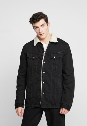 LENNY - Denim jacket - black
