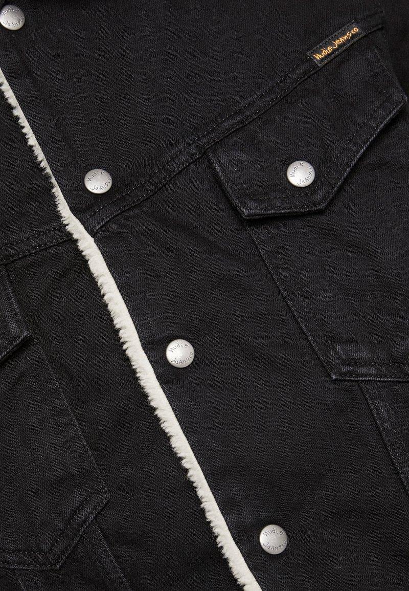 Nudie Jeans LENNY - Jeansjakke - black