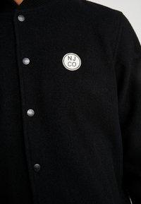 Nudie Jeans - BENGAN - Bomberjacks - black - 5