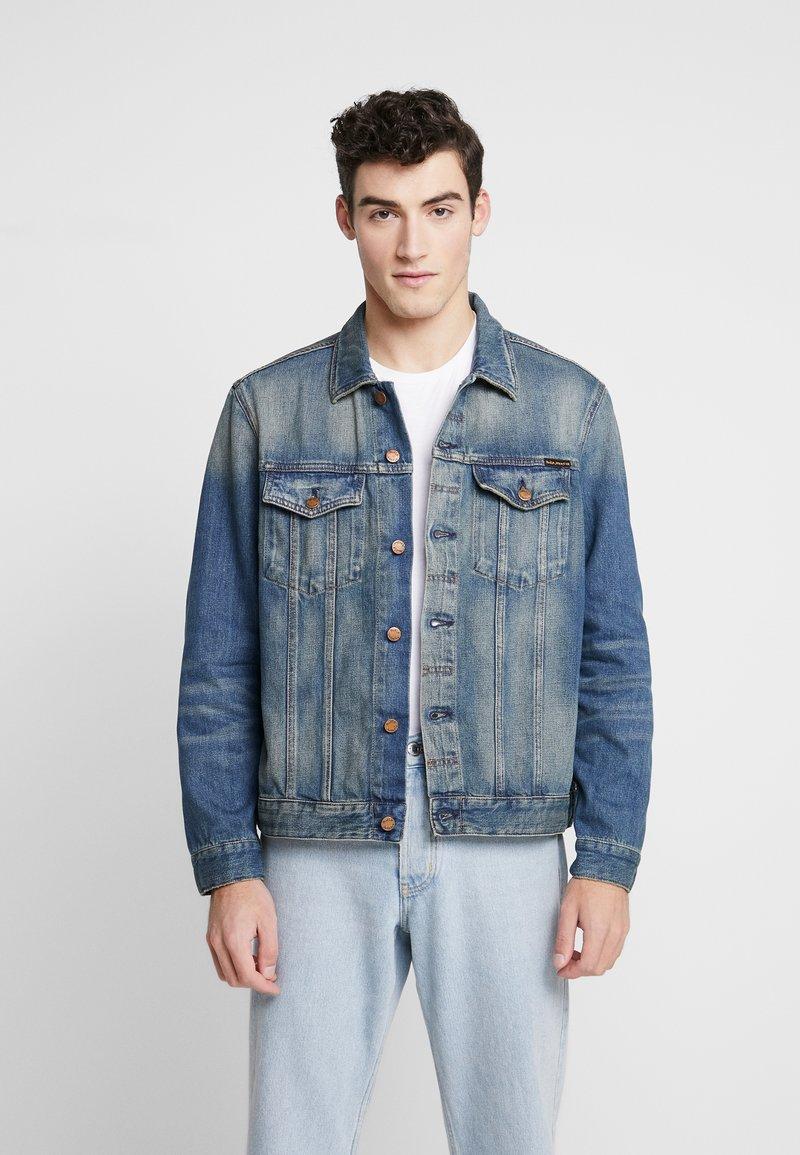 Nudie Jeans - JERRY - Giacca di jeans - blue denim