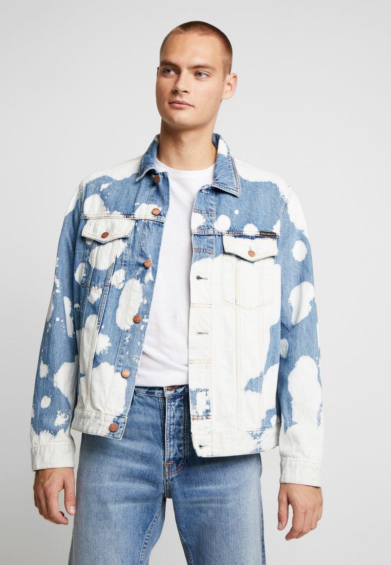 Nudie Jeans - JERRY - Džínová bunda - tye dye