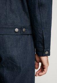 Nudie Jeans - VINNY - Džínová bunda - dry classic slub - 4