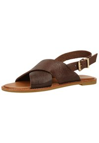 Inuovo - Sandals - mntrl brown nbr - 5