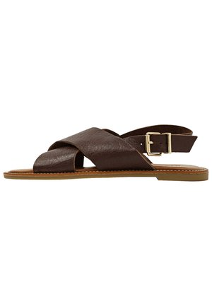 Sandals - mntrl brown nbr