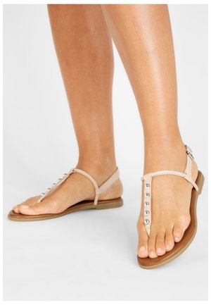 T-bar sandals - blush blh